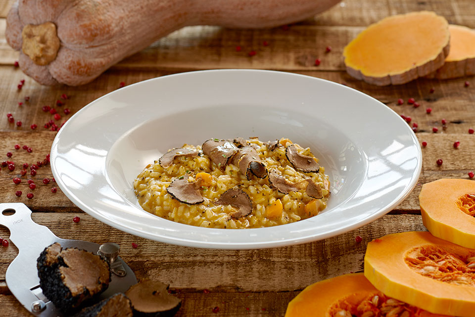 Risotto zucca e tartufo - Nasty Boys lunch