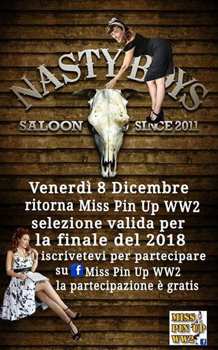 Nasty Boys Saloon TrevisoMiss Pin Up WW2 2017 - Nasty Boys Saloon ...